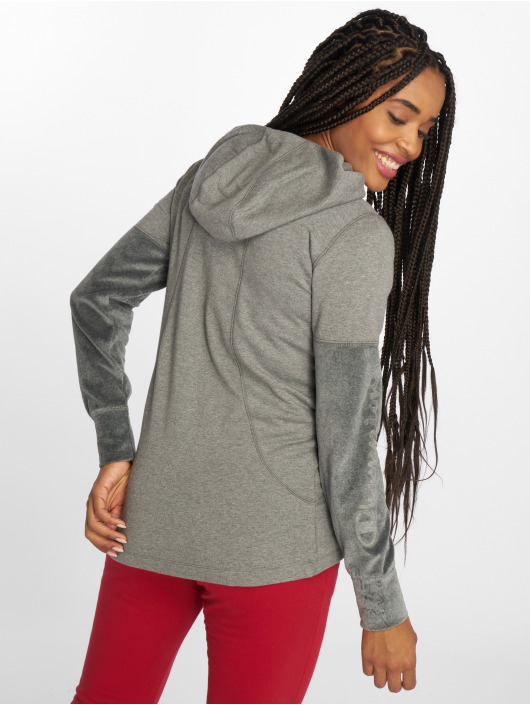 Champion Athletics Zip Hoodie Lounge Mode grå