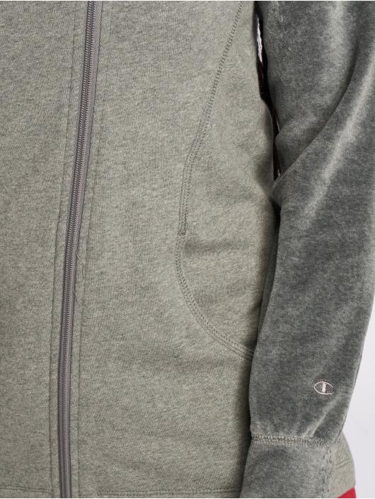 Champion Athletics Zip Hoodie Lounge Mode grey