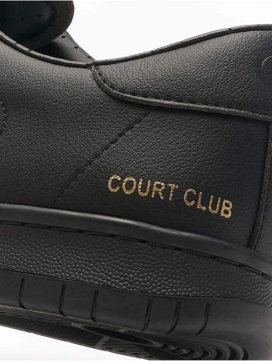Champion Baskets Rochester Low Cut Court Club Patch noir