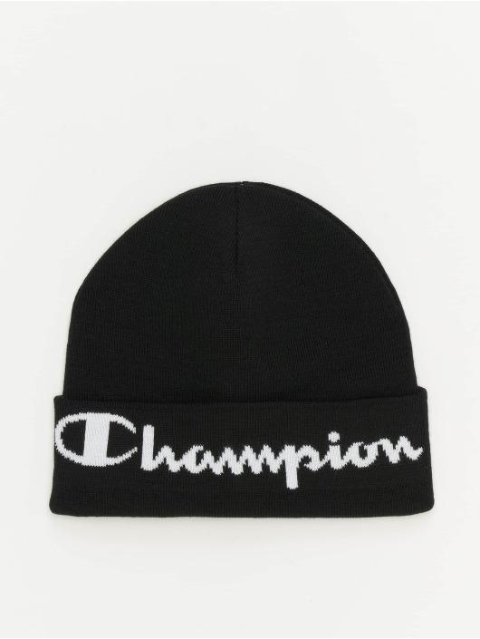 Champion Beanie Logo schwarz