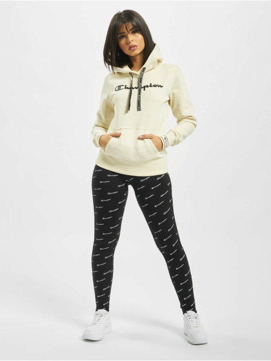 Champion Bluzy z kapturem Hooded bialy