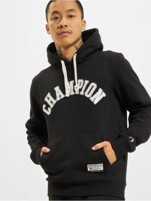 Champion Bluzy z kapturem Hoody czarny