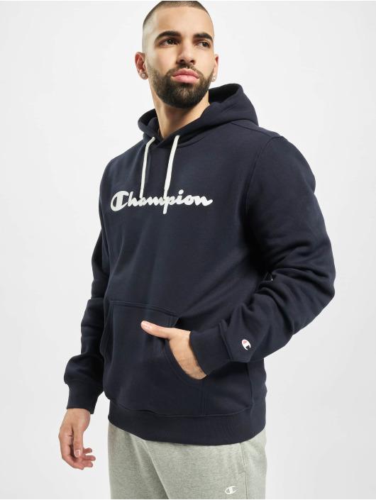 Champion Bluzy z kapturem Hooded niebieski