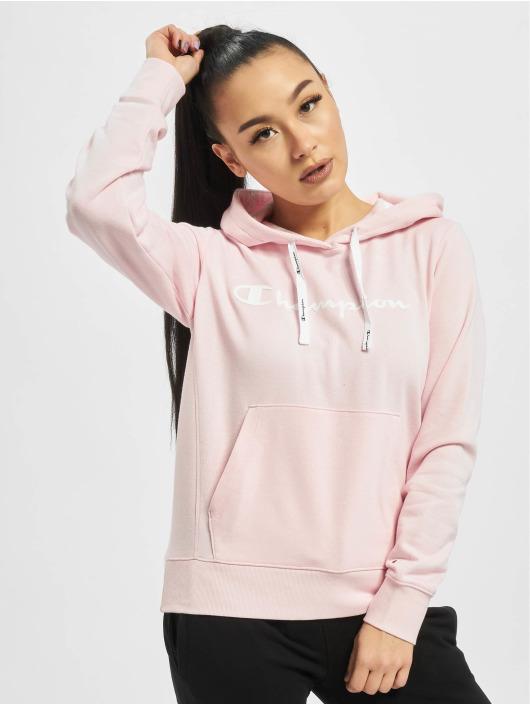 Champion Bluzy z kapturem Legacy pink