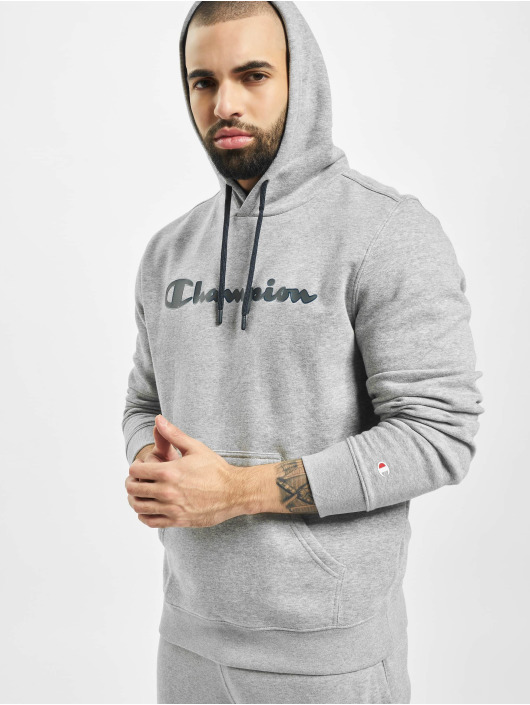Champion Bluzy z kapturem Hooded szary