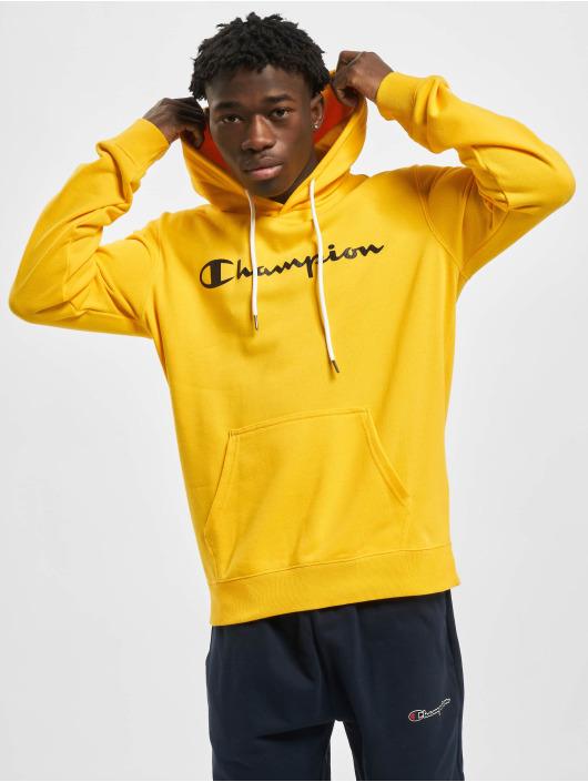 Champion Bluzy z kapturem Legacy zólty