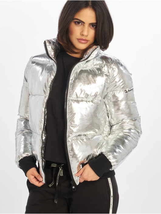 Champion Bomber jacket Rapha silver colored