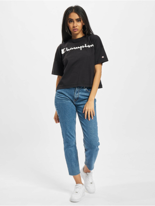 Champion Camiseta Oversize negro