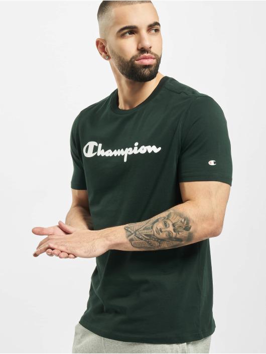 Champion Camiseta Crewneck verde