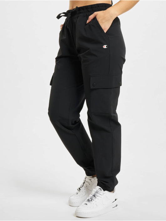 Champion Chino bukser Elastic Cuff svart