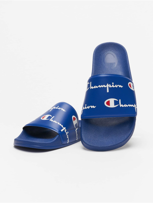 Champion Claquettes & Sandales Premium bleu