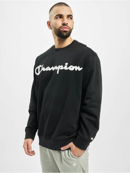 Champion Jersey Crewneck negro