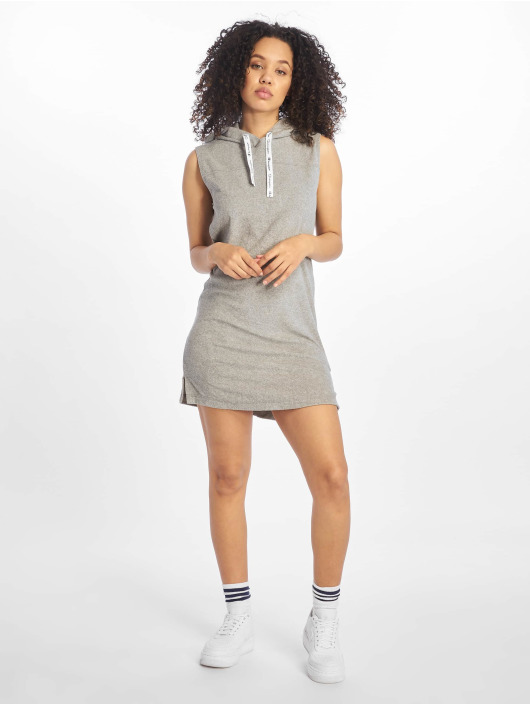 Champion jurk Maxi Hoodie Oxford grijs
