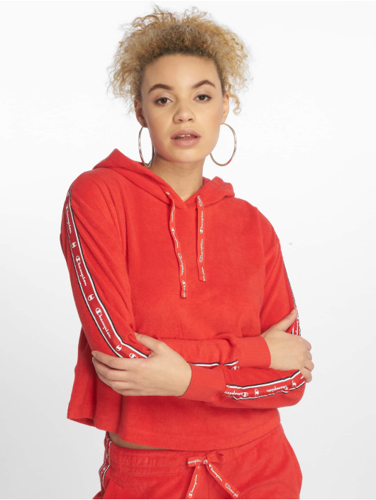 Champion Legacy Hoody Flame Scarlet rood