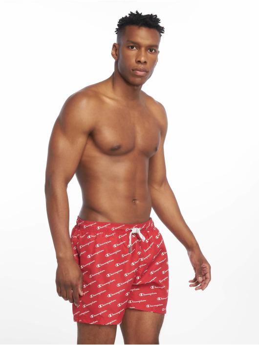 Champion Legacy Koupací šortky Beach červený