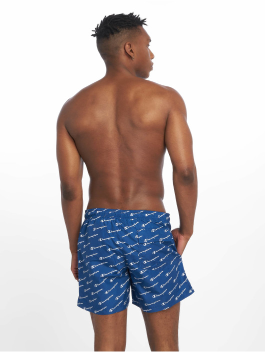 Champion Legacy Koupací šortky Beach modrý