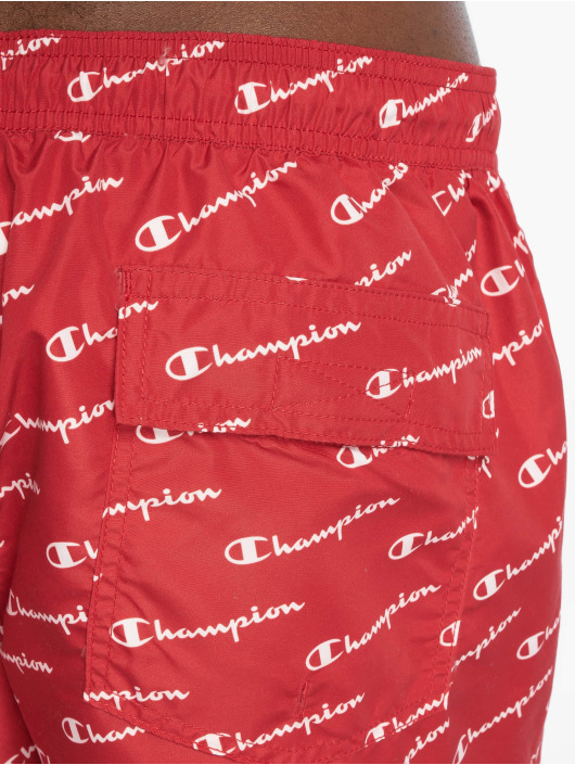 Champion Legacy Short de bain Beach rouge