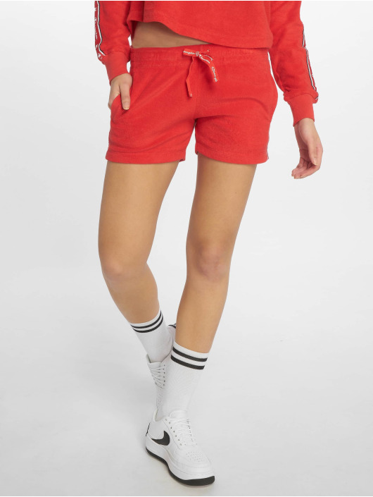 Champion Legacy shorts Flame Scarlet rood