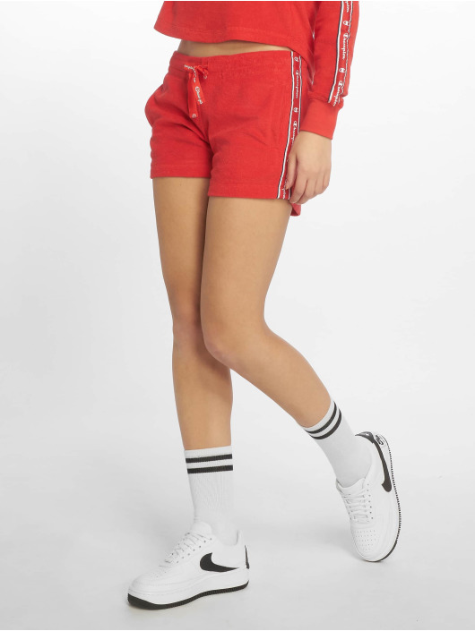 Champion Legacy Shorts Flame Scarlet rosso