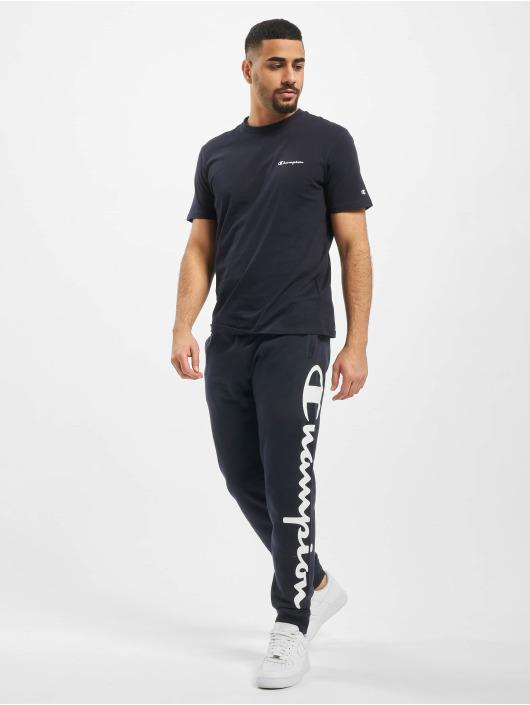Champion Legacy Spodnie do joggingu Legacy Rib Cuff niebieski