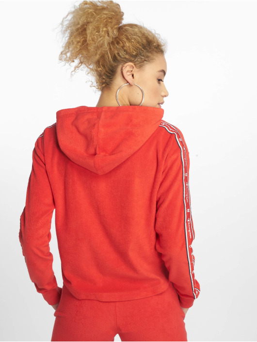 Champion Legacy Sweat capuche Tapes rouge