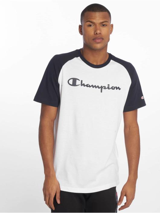 Blanc Crewneck 647562 Champion Legacy T shirt Homme TFK31lJuc