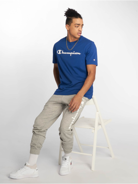 Champion Legacy T-Shirty Crewneck niebieski