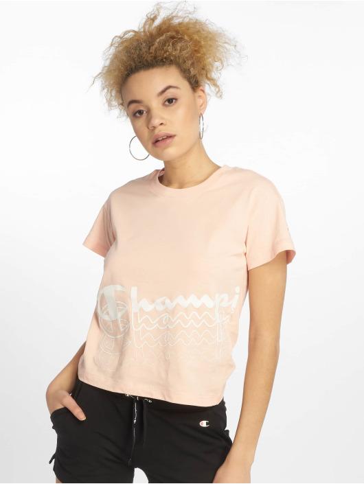 Champion Legacy T-Shirty Impatiens rózowy