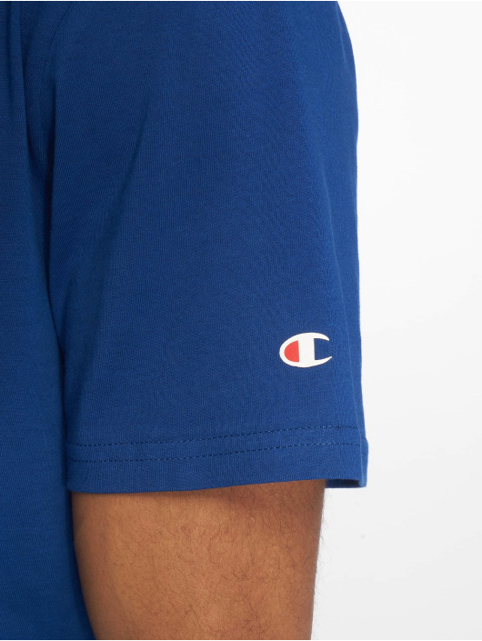 Champion Legacy T-skjorter Crewneck blå