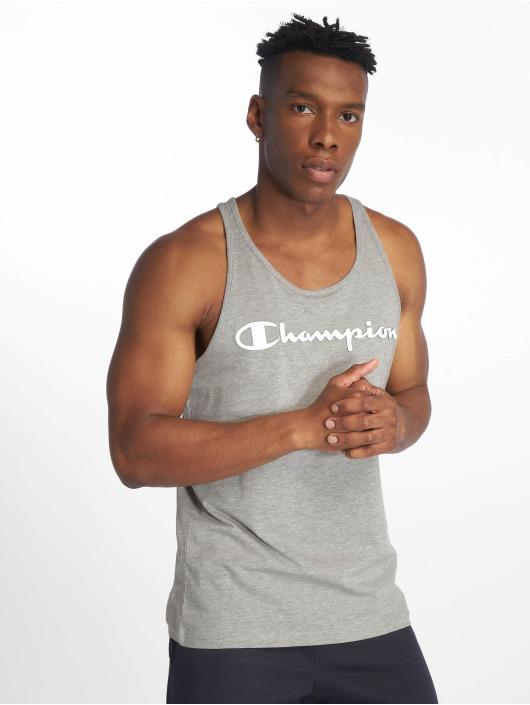 Champion Legacy Tank Tops Classic Logo серый