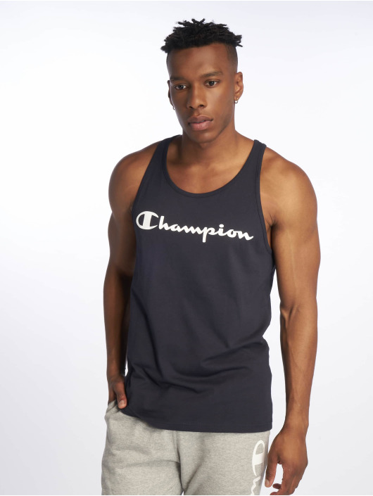 Champion Legacy Tank Tops Classic Logo azul