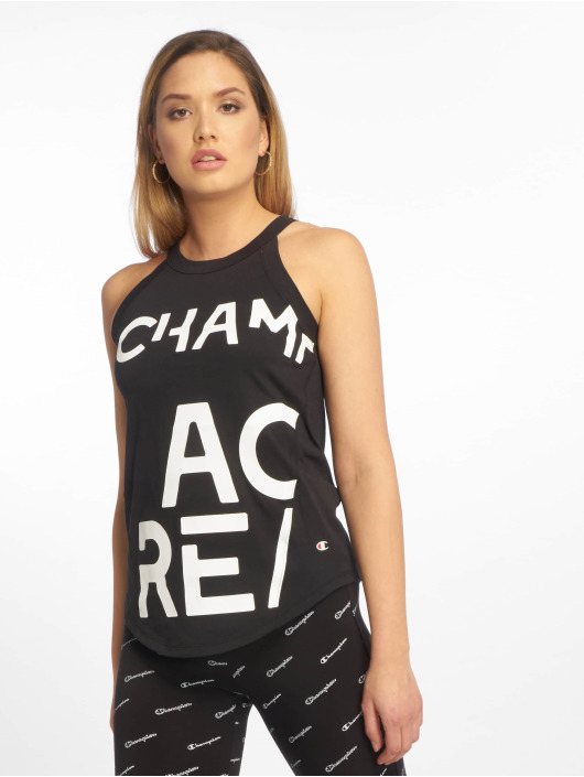 Champion Legacy Tank Tops Beauty schwarz