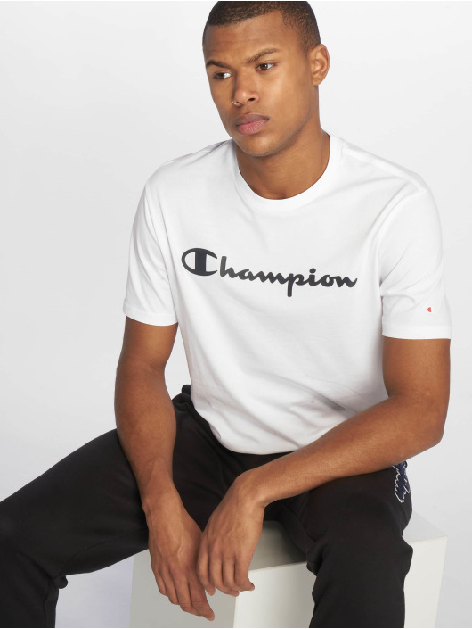 Champion Legacy Tričká Crewneck biela