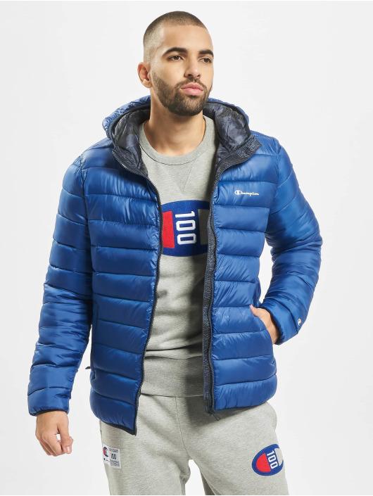 Champion Legacy Winterjacke Hooded blau