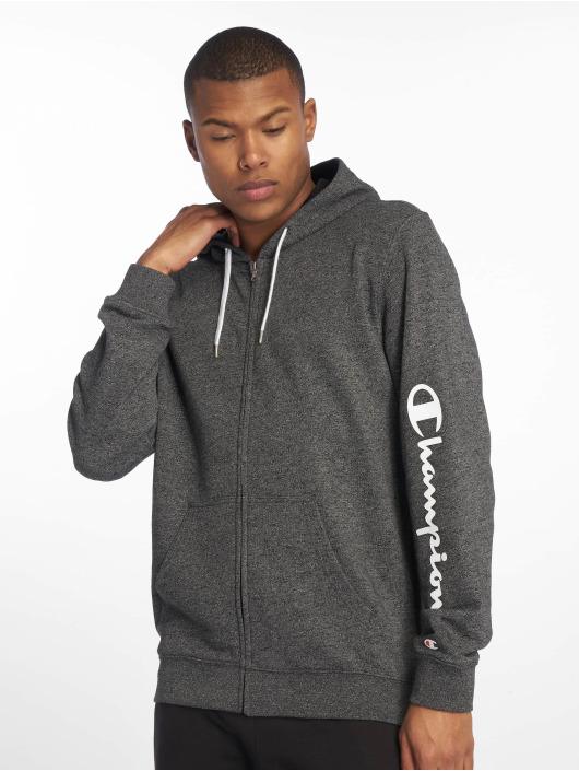 Champion Legacy Zip Hoodie Hooded grå