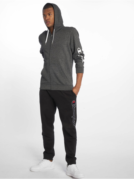 Champion Legacy Zip Hoodie Hooded szary