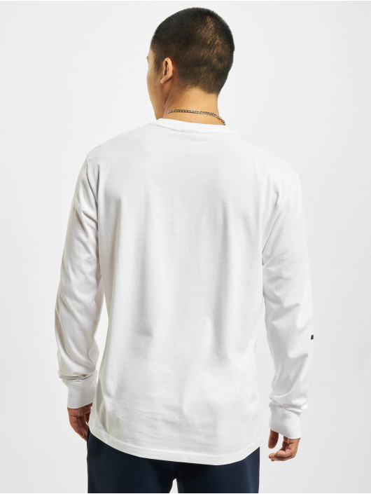 Champion Longsleeve Logo white