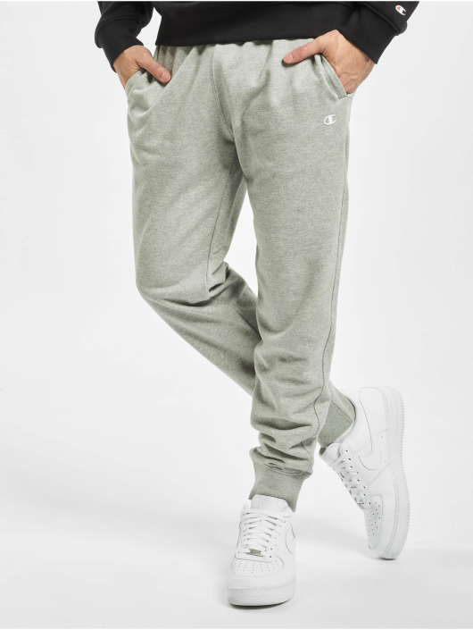 Champion Pantalón deportivo Rib Cuff gris