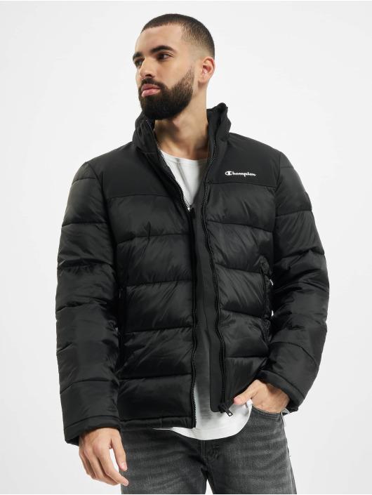 Champion Puffer Jacket Legacy schwarz