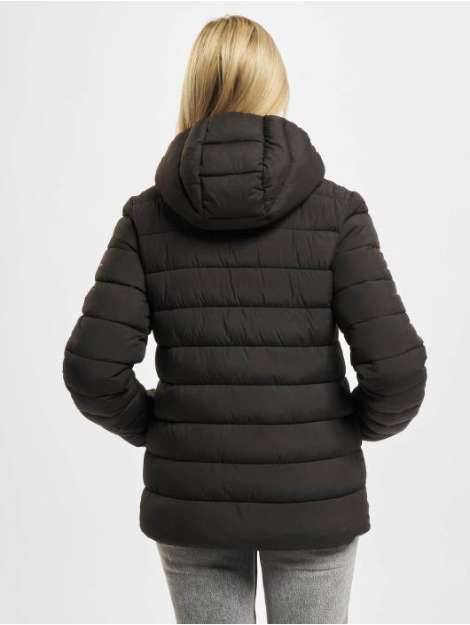 Champion Puffer Jacket Hooded Polyfilled schwarz