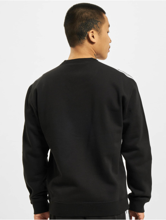 Champion Pullover Logo Tape black