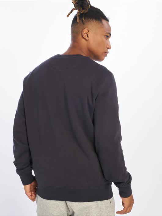 Champion Pullover Single Logo blau