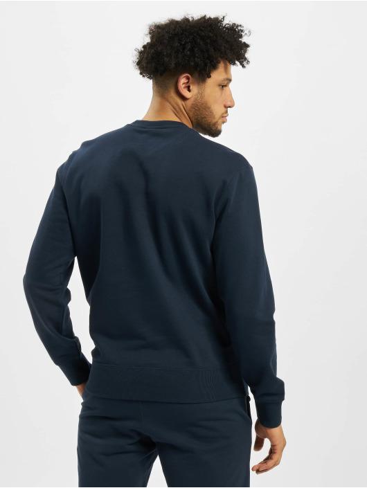 Champion Pullover Satin Logo blau