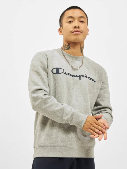 Champion Pullover Logo grey