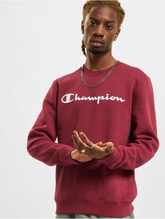 Champion Pullover Logo rot