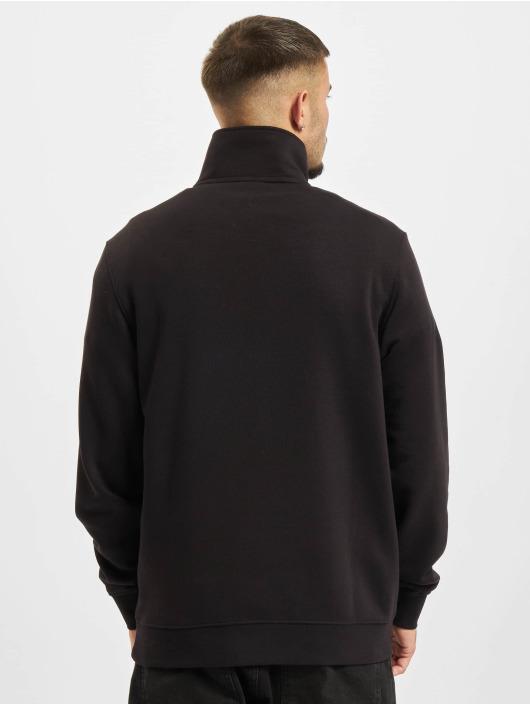Champion Pullover Half Zip schwarz