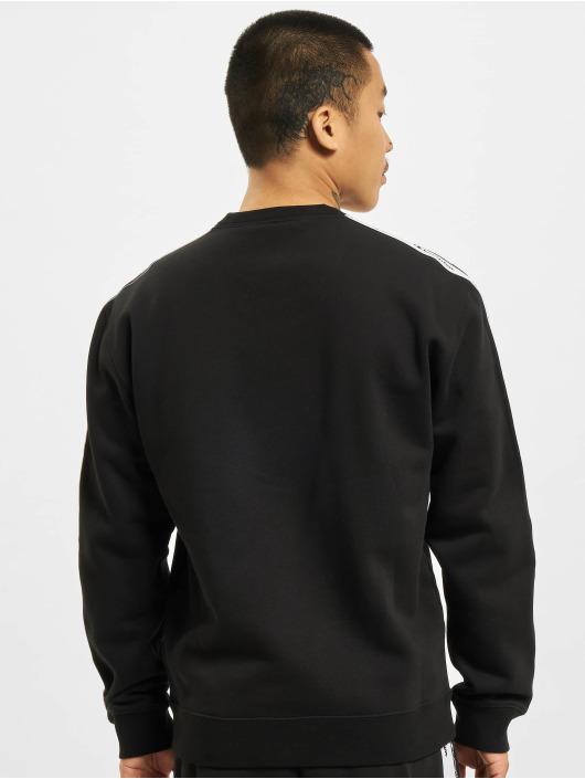 Champion Pullover Logo Tape schwarz