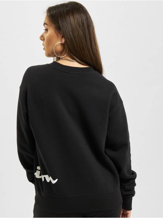 Champion Pullover Logo schwarz