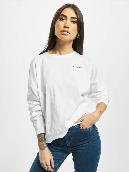 Champion Pullover Tone-in-Tone white