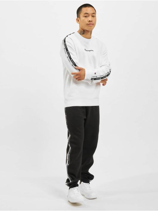 Champion Pullover Logo Tape white